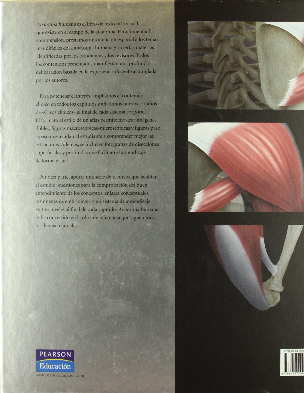 ANATOMIA HUMANA (Spanish Edition): MARTINI FREDERIC H ...