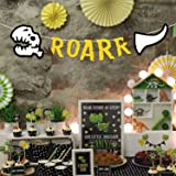 Party PROPZ Dinosaurs Roar STRTING Banner/ Dinosaurs Party Decoration/ Dinosaurs Party Supplies