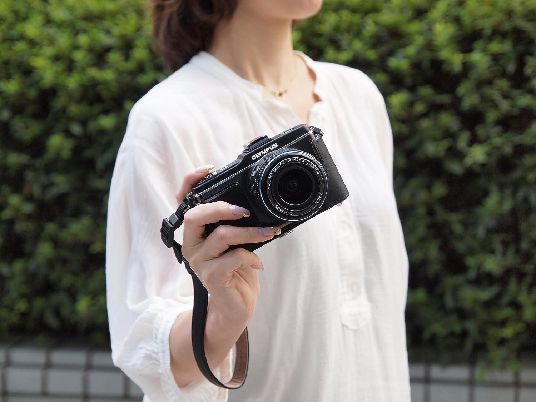 Olympus Css S110ls Lederhandschlaufe Schwarz Kamera