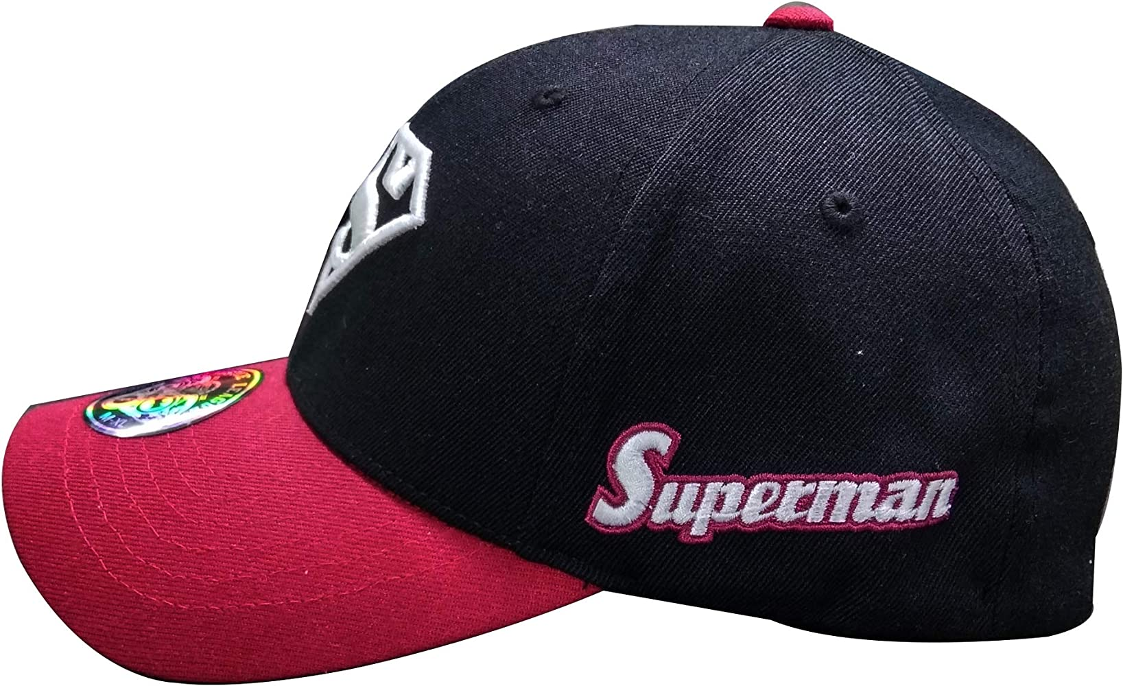myglory77mall Superman Shield Gorra de béisbol Bordada de Licra ...