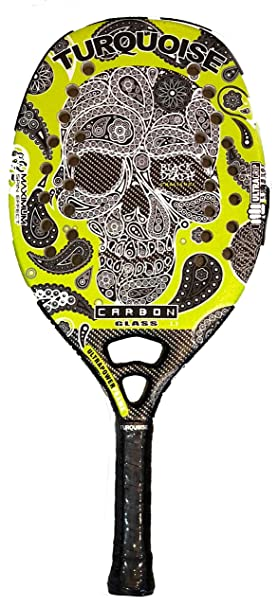 Raqueta Beach Tenis Turquoise Black Death Challenge Green 2018: Amazon.es: Deportes y aire libre