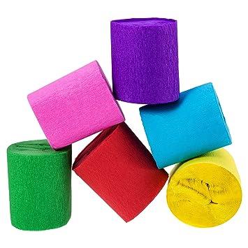 outus rollos cintas de papel crepe colores para de fiesta de cumpleaos fiesta