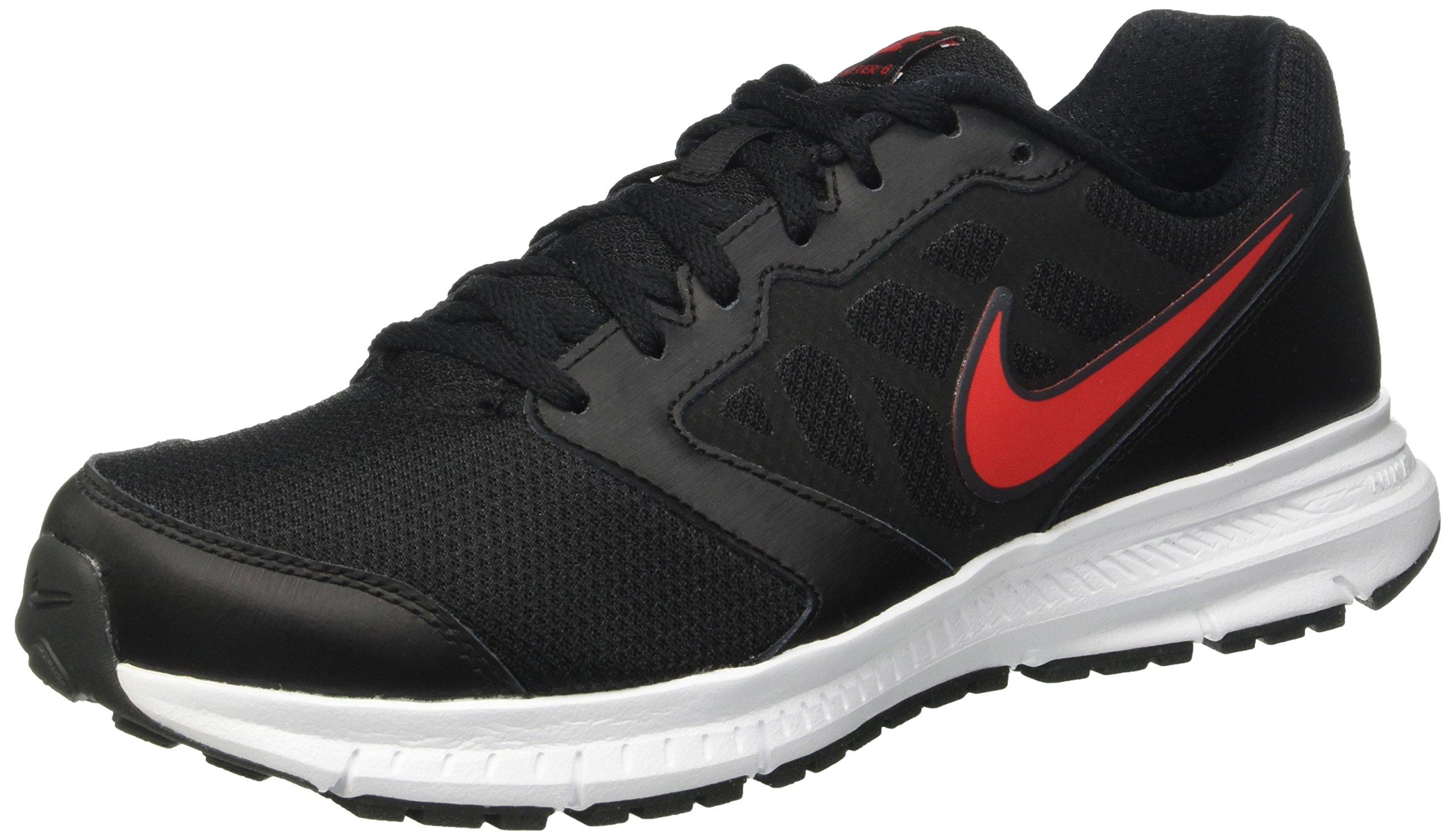 wholesale dealer 37472 84b97 Galleon - Nike Men s Downshifter 6 Black University Red Anthracite White Running  Shoe 11 Men US