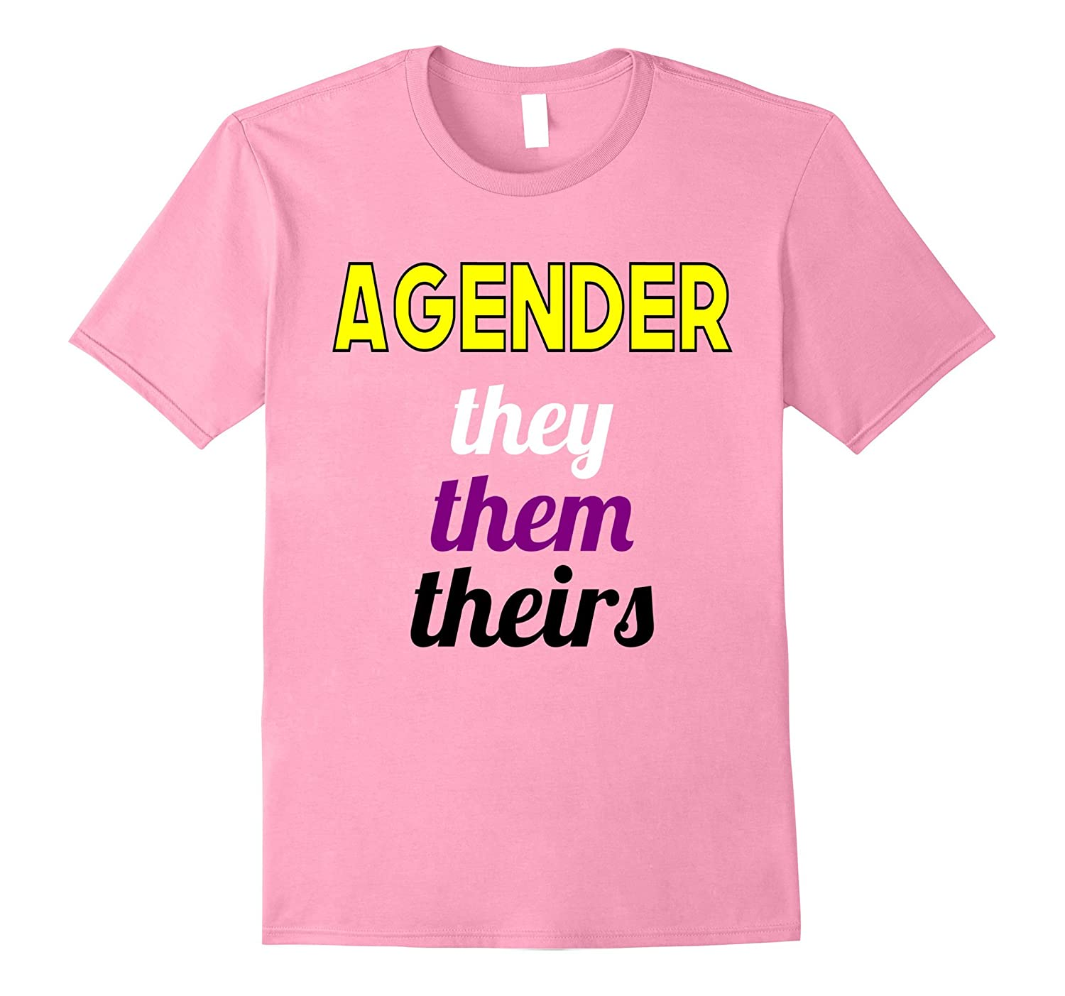 Agender They Them Theirs Nonbinary Transgender Pride Pronoun-CD