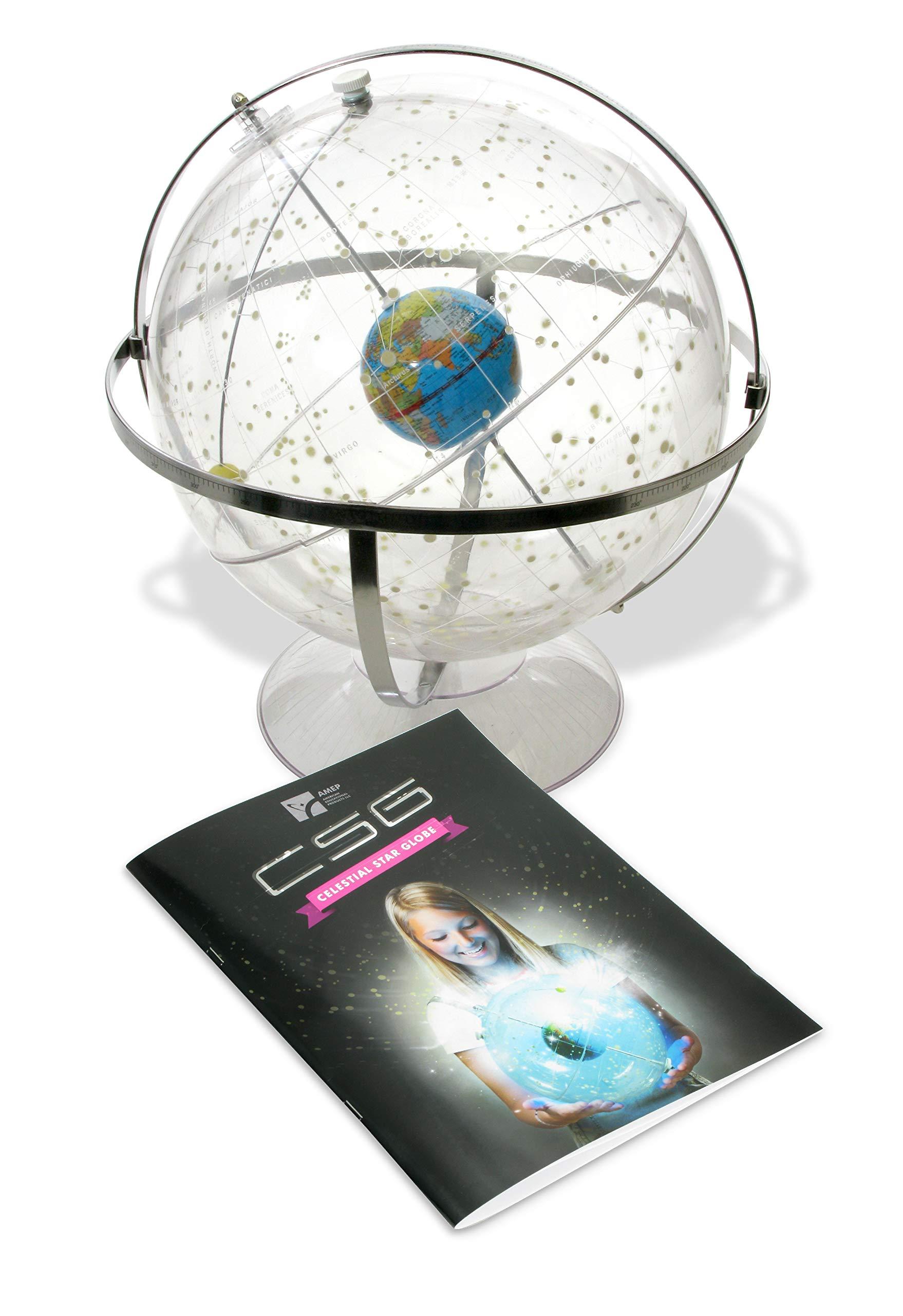 American Educational 300 Transparent Celestial Globe, 12'' Diameter