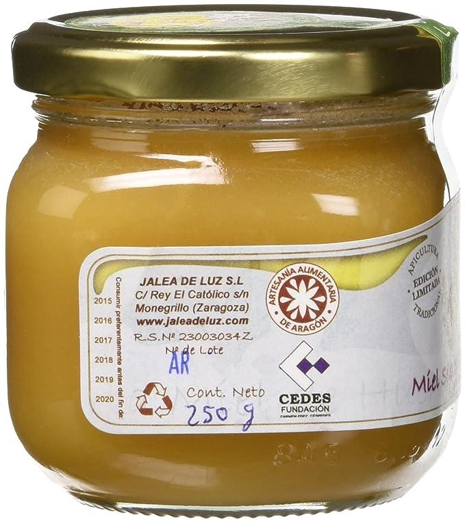 Jalea de Luz Miel Cruda Pura de Alfalfa - 250 gr.
