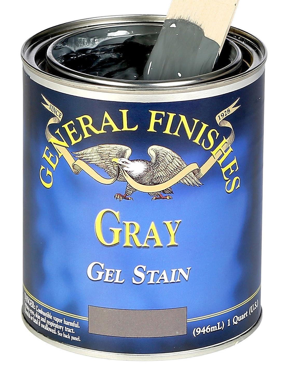 General Finishes ゲルステイン Half-Pint GRH B00YCLCBT6 Half-Pint|グレー グレー Half-Pint