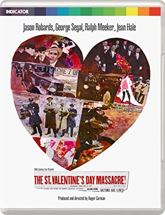 St Valentines Day Massacre Limited Edition Blu Ray Blu Ray Amazon