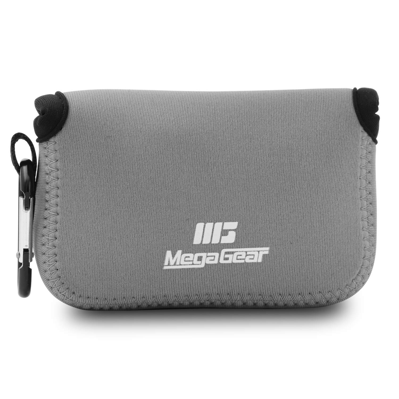 MegaGear Ultra Light Neoprene Camera Case Bag with Carabiner for Canon PowerShot SX620 HS Digital Camera