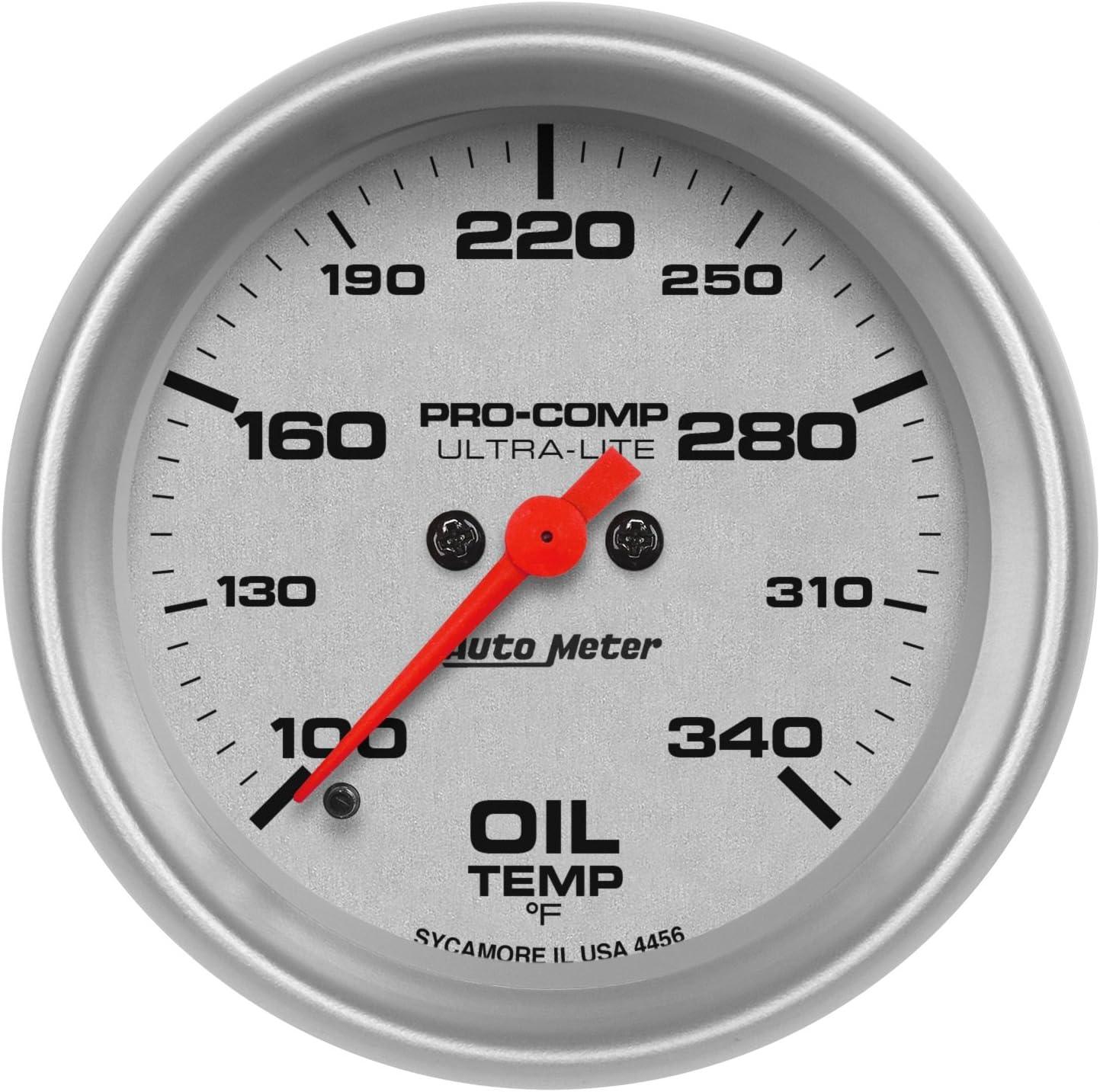 Auto Meter 4356 Ultra-Lite Electric Oil Temperature Gauge