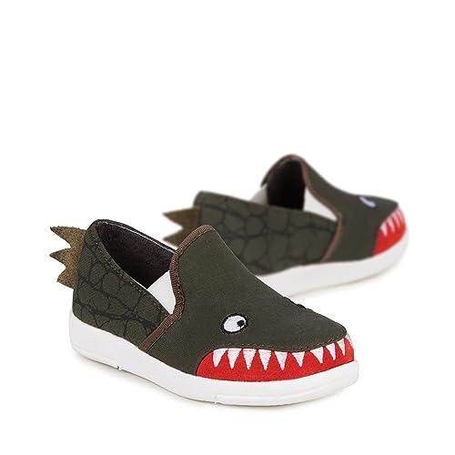 b132ff14d Amazon.com  EMU Australia Kids Mens Croc Sneaker (Toddler Little Kid ...