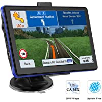 GPS Navigation for Car, Prymax 7 Inch GPS Navigator Touchscreen Car GPS Navigation System with 8GB Memory, Lifetime Map Update, Driving Alarm, Voice Steering