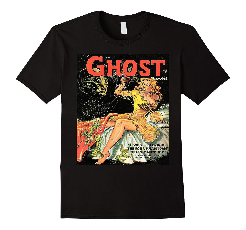 Vintage Horror Comic Cover T-shirt-TJ