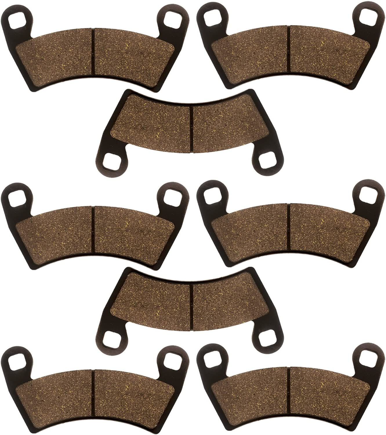Front /& Rear Brake Pads  For POLARIS RZR XP 1000 2014-2017