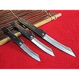 3Couteaux(M/L/XL)Higonokami japonais Couteau de poche pliant / Chrome