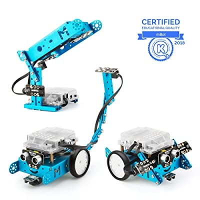 Makeblock Interactive Light & Sound robot add-on pack Designed for mBot, 3-in-1 Robot Add-on Pack, 3+ Shapes: Everything Else