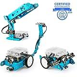 Makeblock mBot Add-on Pack Interactive Light & Sound, Robot 3-en-1 Paquete Adicional, Robot Que persigue la luz/Luz de Escritorio Inteligente/Robot Scorpion