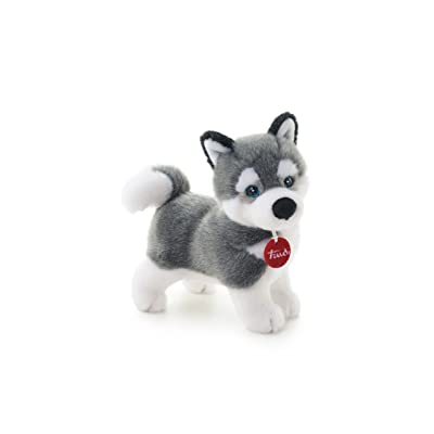 Trudi Classic Marcus Husky Plush Toy, Standing : Plush Animal Toys : Baby