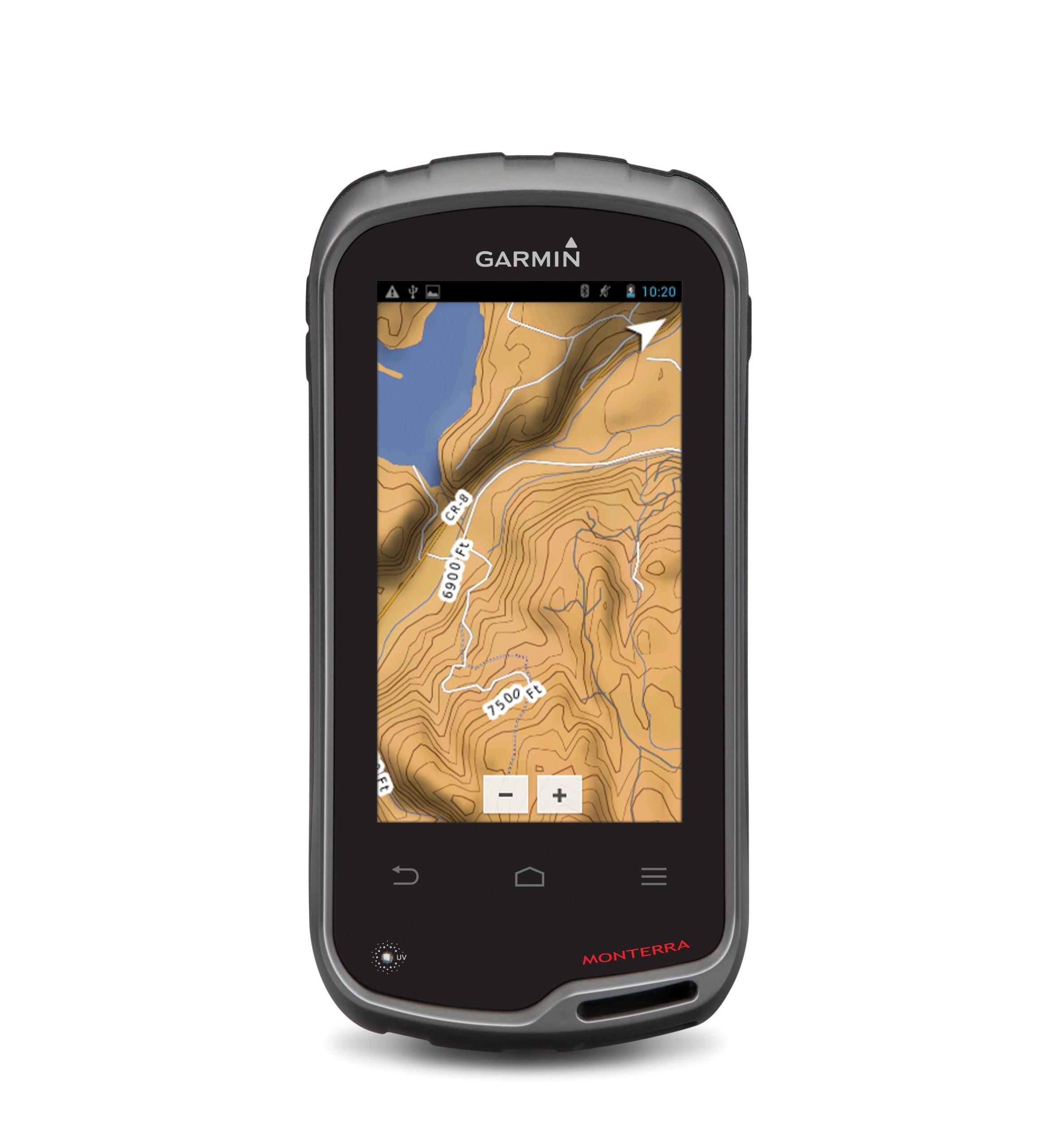 Garmin Monterra Wi-Fi Enabled GPS Navigator 010-01065-00 (4'' Display, 8MP Camera, GPS, Google Play Apps,3D MapMerge)