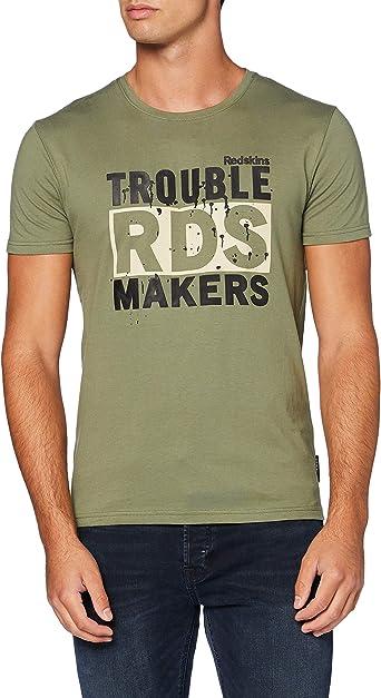 TALLA M. Redskins Tribut Honda Camiseta para Hombre