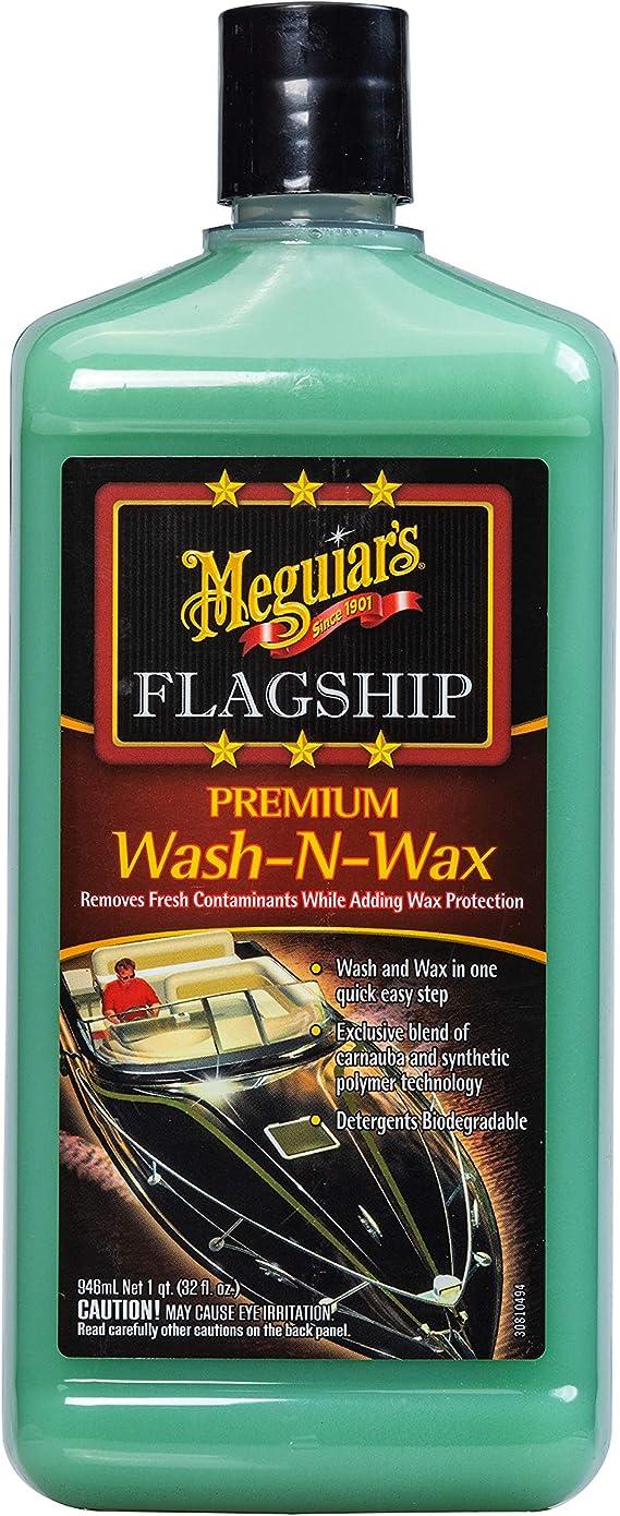 Meguiar's M4232 Marine Flagship Wash-N-Wax