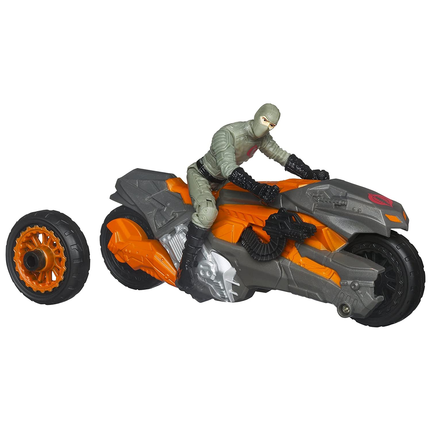 G.I. Joe retaliation Cobra Wheel Blaster Bike Vehicle with Firefly Figure
