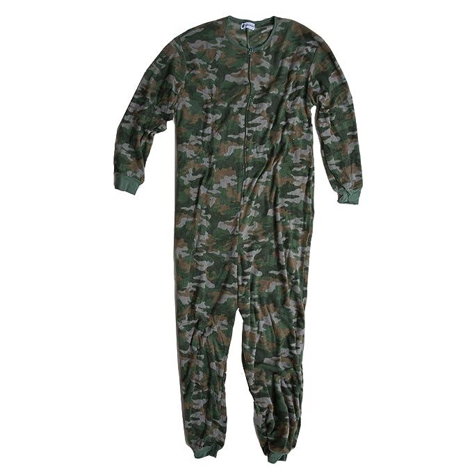 Accessoryo - Pijama - Pelele - para hombre Verde verde: Amazon.es: Ropa y accesorios