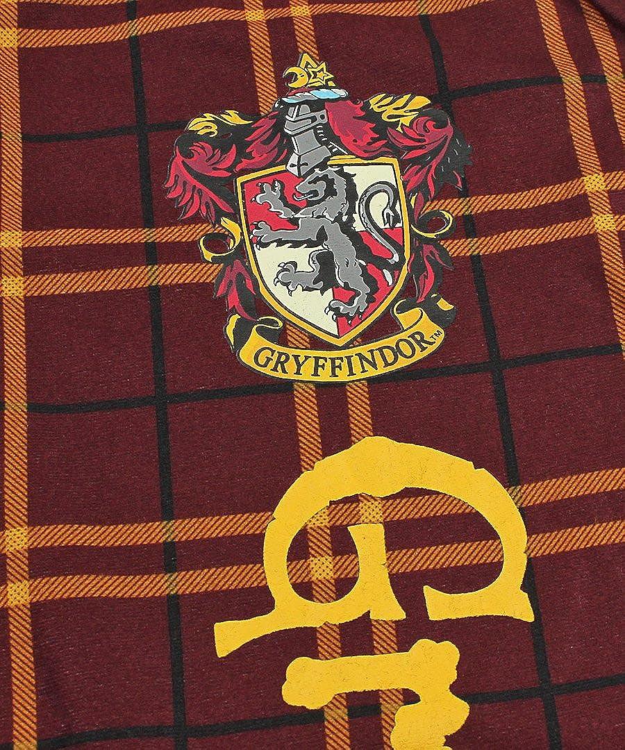 Intimo Harry Potter Big Boys Houses Plaid Pajama Lounge Pants