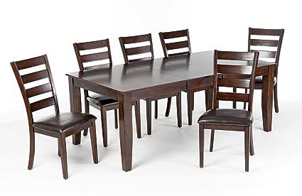 18e60d47a45 Amazon.com - Intercon Kona 7- Piece Mango Wood Dining Set - Table ...