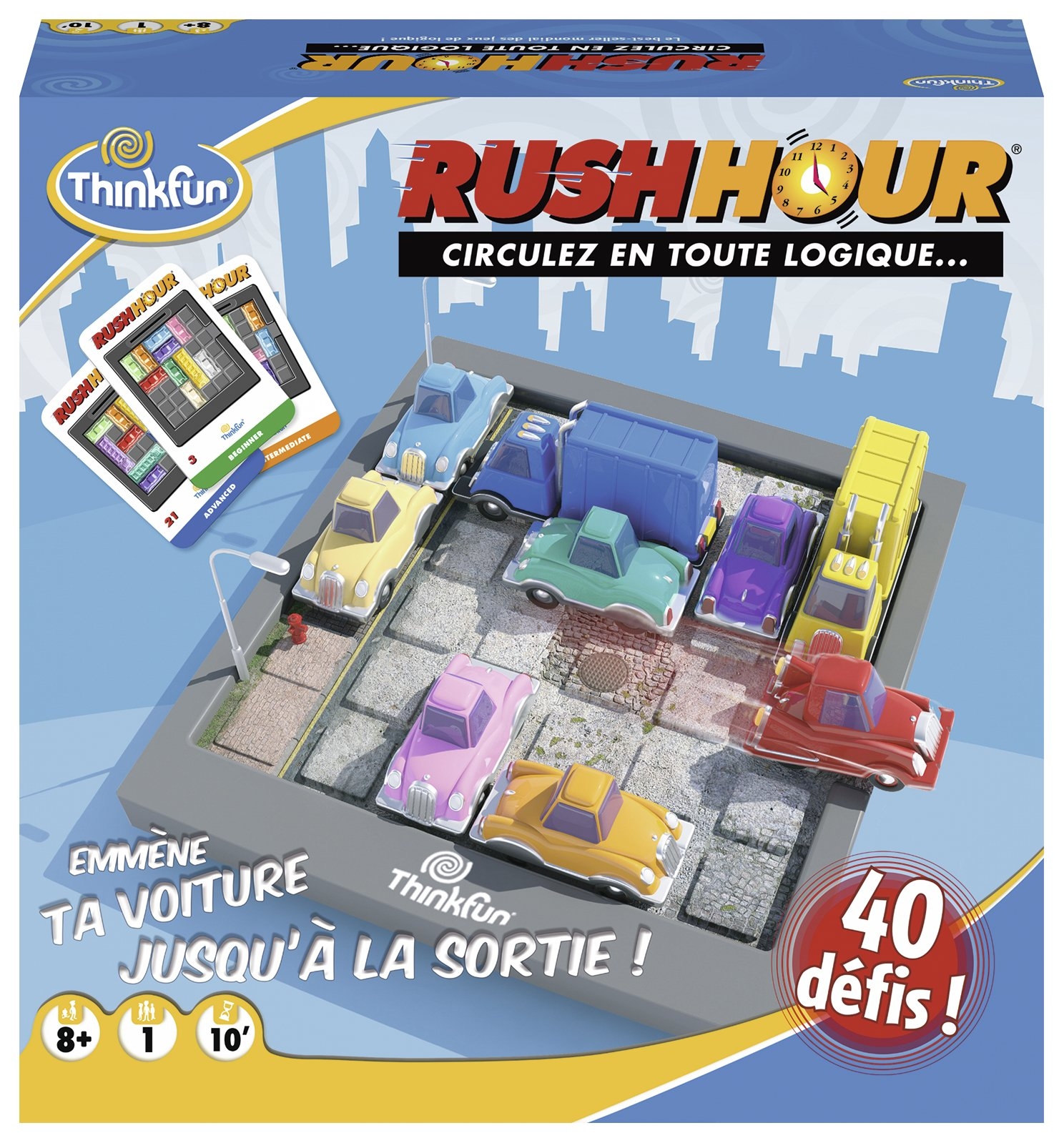 Ravensburger Jeu de logique-Rush Hour, 76302, Multicolore product image