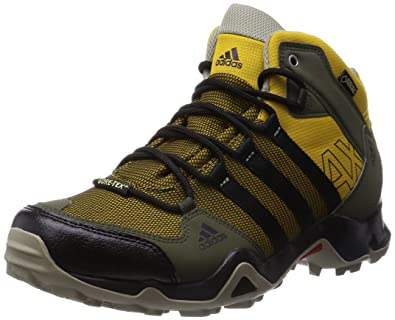 Ax2 Gtx ChaussuresMarrónnegroverde Mid Homme Adidas Montagne If7m6Ybvgy