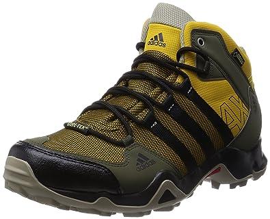 Ax2 Gtx Adidas Montagne Homme Mid ChaussuresMarrónnegroverde NOv08nmw