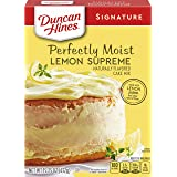 Duncan Hines Signature Cake Mix, Lemon Supreme, 15.25 oz