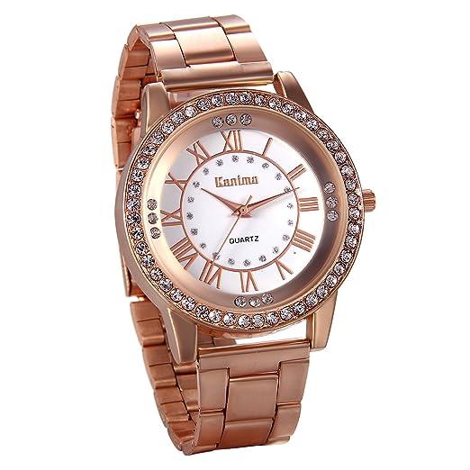 ddcf241db4a Amazon.com  JewelryWe Luxury Mens Dress Watch