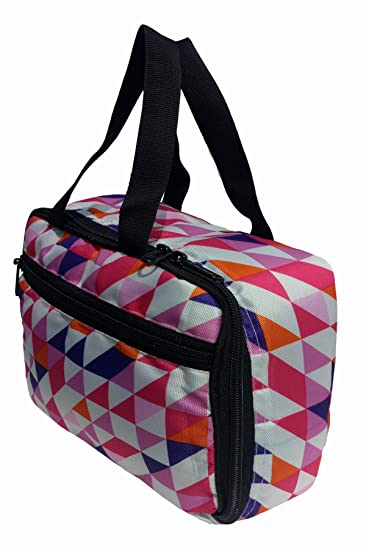 2e9f3499de77 Buy Aafeen Polyester Daily Use Lunch Tiffin Bag  Multicolor  Online at Low  Prices in India - Amazon.in