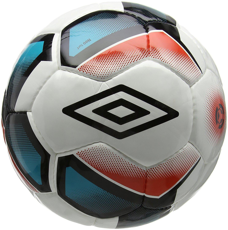 Umbro Balón de fútbol Neo Turf, Color Blanco, tamaño 4 20734U