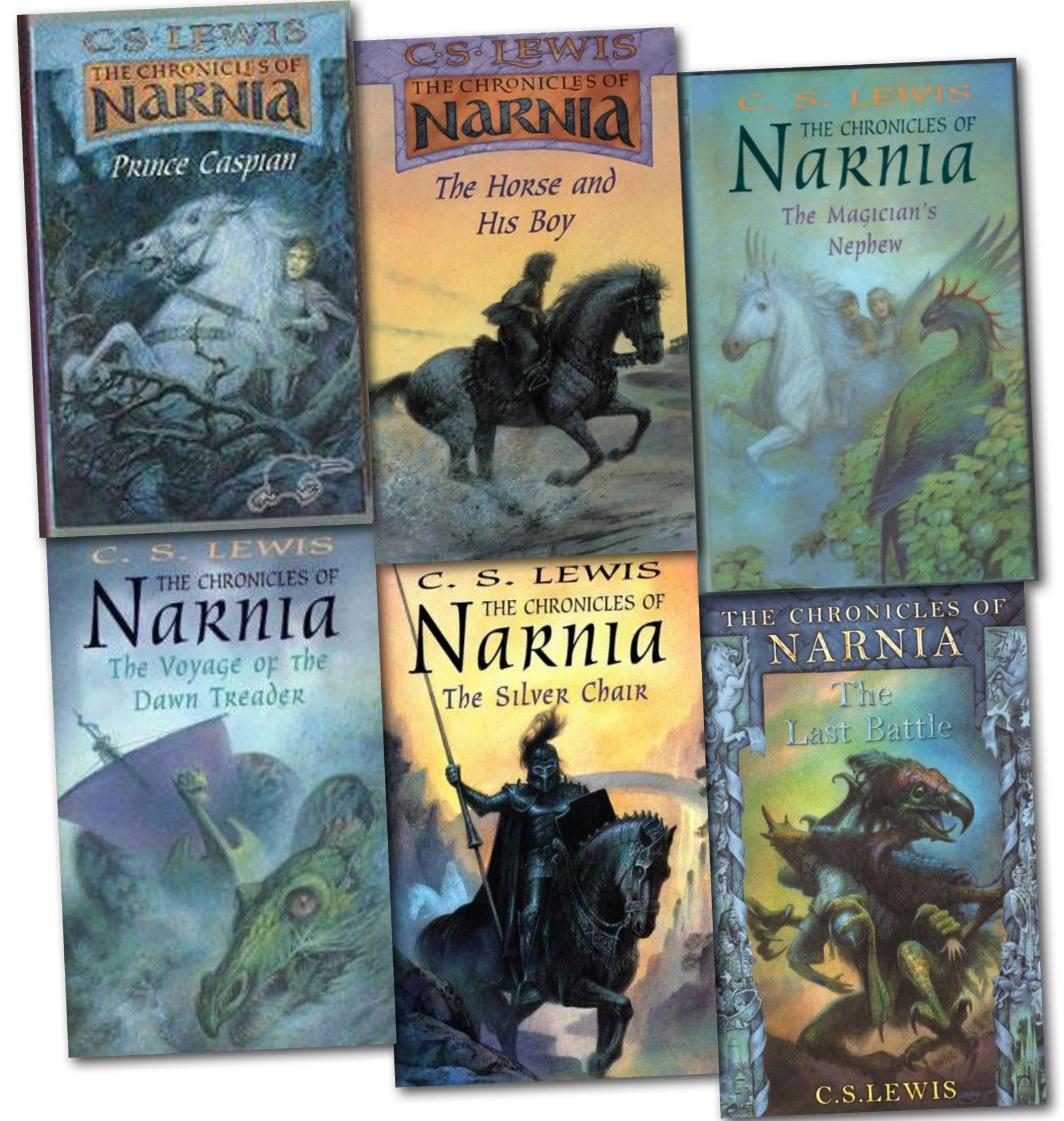 The Chronicles of Narnia 6 Books Collection Set Pack Narnia