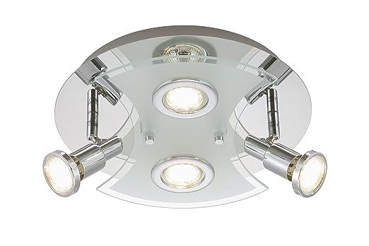 Briloner Leuchten 2159 048LM A Deckenleuchte Deckenlampe LED