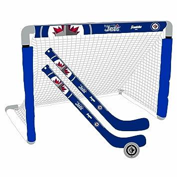 adc456d91d8 Franklin NHL Winnipeg Jets Mini Hockey Set
