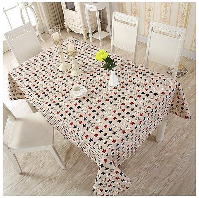 Medio Ambiente lino Rectangular mantel funda para mesa de comedor ...