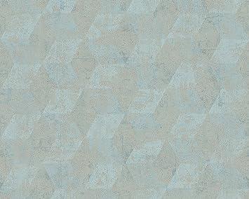 NEWROOM Tapete Ethno Streifen Struktur bunt Vliestapete Vlies Mustertapete