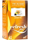 TE-A-ME Lemon Tea Pack of 25 Tea Bags + 3Flavoured bag (Free Sample)
