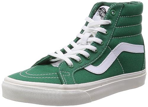 f72ee7c97628 Vans SK8 Hi Reissue 10 oz Canvas Verdant Green Men s Skate Shoes Size 9   Amazon.ca  Shoes   Handbags