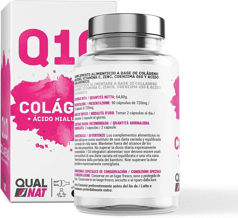 Colágeno | Q10 | Ácido Hialurónico | Vitamina C | Reafirma tu Piel ...