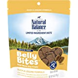 Natural Balance Belly Bites Semi Moist Dog Treats, 6 Ounce Bags, Grain Free (Packaging May Vary)