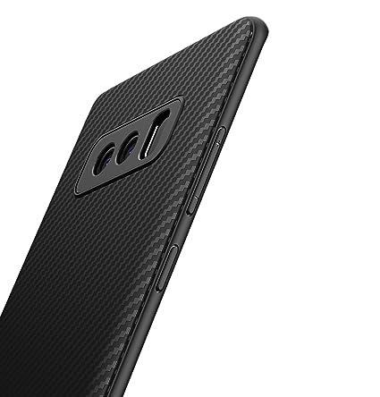 XINYUNEW Funda Samsung Galaxy Note 8,[Textura Fibra de Carbono] Carcasa Ligera Silicona Suave TPU Gel Bumper Case Cover Caso para Samsung Galaxy Note ...