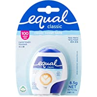 Equal Classic Zero Calorie Sweetener 100 Tablets, 8.5 g