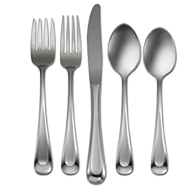Oneida Satin Sand Dune 20-Piece Flatware Set, Service for 4