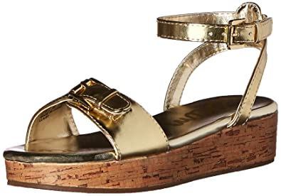 888897bf632 Sam Edelman Kids Girls  Liora - K Gold Metallic 5 M US Big Kid