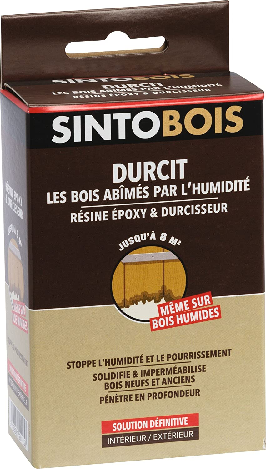 Grand Stunning Durcisseur Bois Pourri Kit With Mastic Bois. Conception